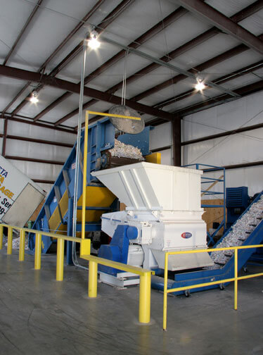 Secure Document Shredding Facility