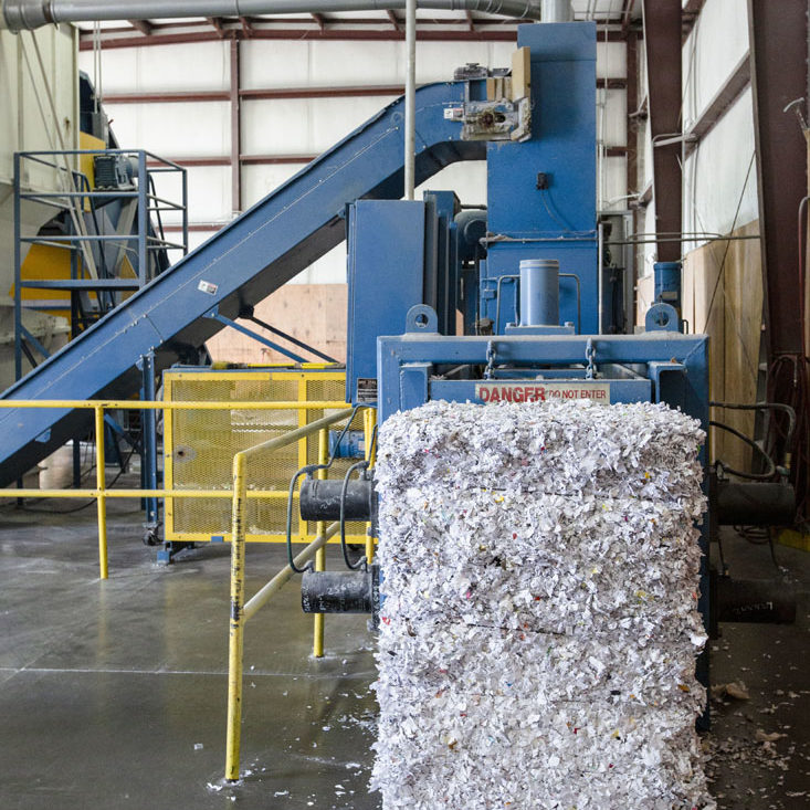 DOCUMENT SHREDDING - WE RECYCLE - recycling with gp harmon