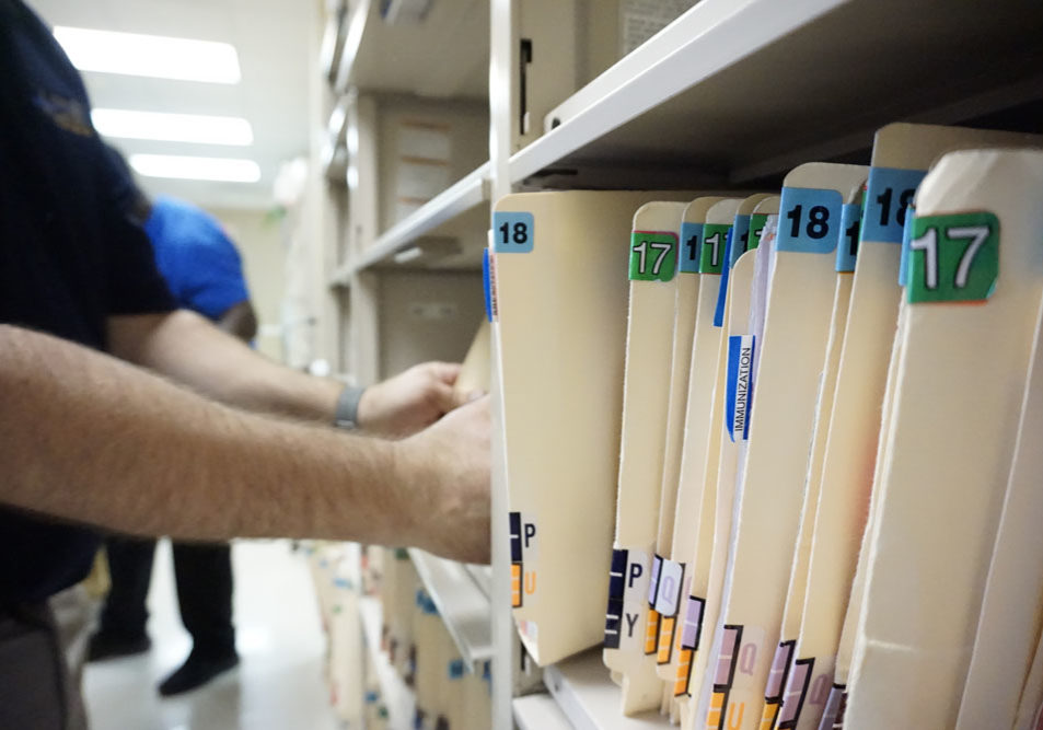RECORDS MANAGEMENT - FILE PURING - records management
