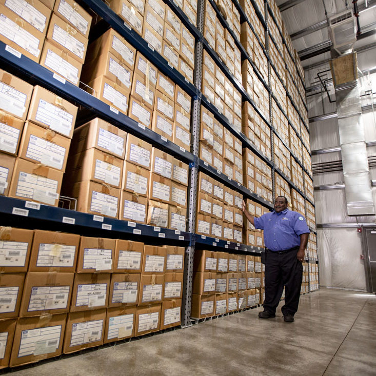 RECORDS MANAGEMENT - RECORDS STORAGE - security is our top priority